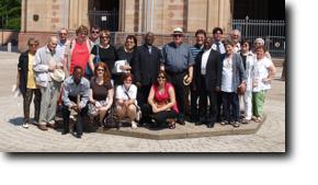 Gruppenbild Uruguay-Ruanda-St. Martin-Speyer