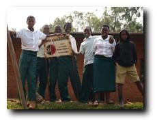 Schülerinnen und Schüler der Centre Scolaire Bushenge