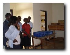 Seifenherstellung in Shangi/Ruanda