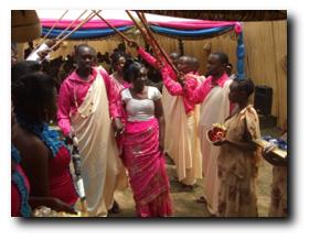 Hochzeit von Agnes Mujawamariya