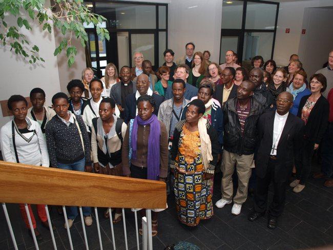 Partnerschaftsfeier 2013 Ruanda-Delegation