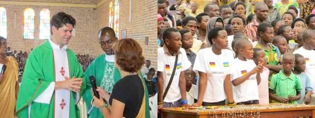 Jubiläumsfest in Shangi/Ruanda 2013