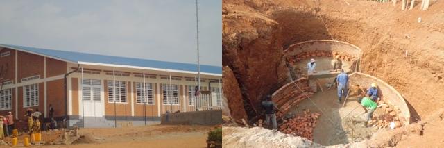 Salle Polyvalente und Biogasanlage