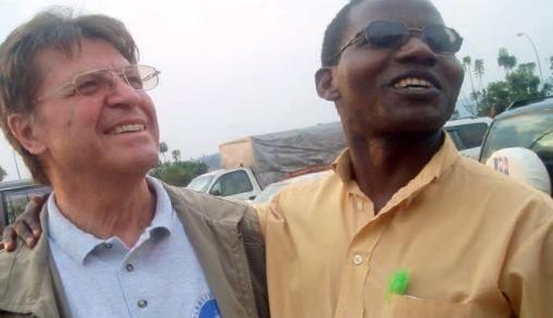 Norbert Kaiser und Evariste Nambaje (2008)