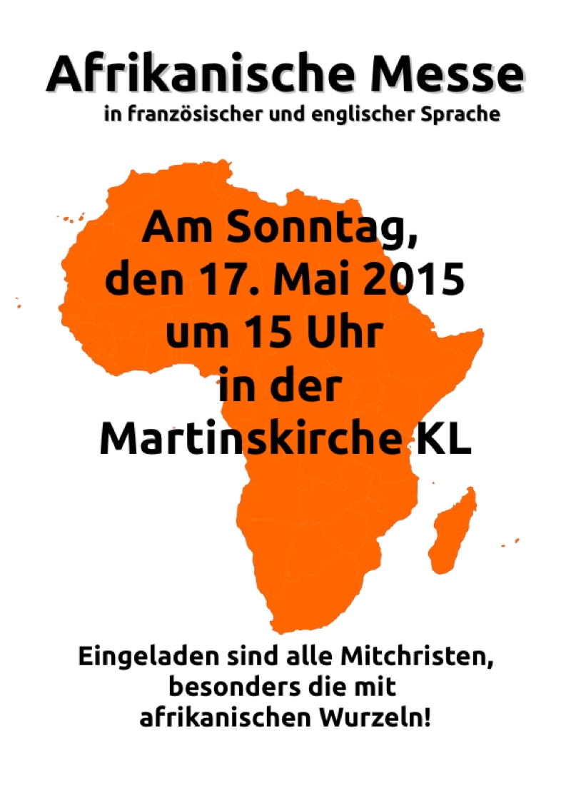 Afrikanische Messe