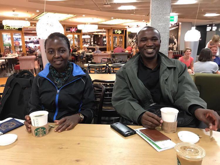 Sylvan Ayobamvuga und Rose Nyirandayambaje (Foto: Andreas Keller)